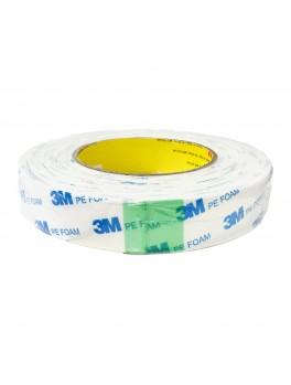 3M 1600PE Foam Tape 25mm X 8M - White