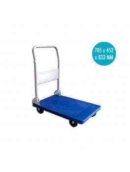 APEX Small PVC Trolley (Blue) -100KG