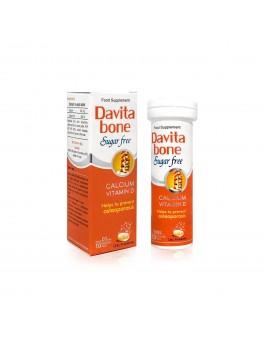 DAVITA Bone-Calcium 600MG, D3 400IU X 10's Eff Tablet