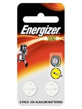 ENERGIZER 189 BP2 Miniature Alkaline Battery, Size:1.5V (2pcs/card)