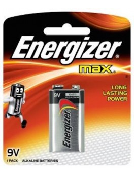 ENERGIZER 522 BP1 Alkaline Battery MAX, Size:9V (1pc/card)