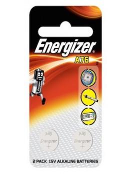 ENERGIZER A76 BP2 Miniature Alkaline Battery, Size:1.5V (2pcs/card)