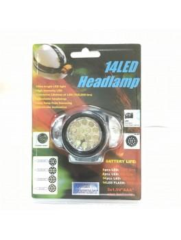 EBH188 14-LED Head Lamp 3xAAA