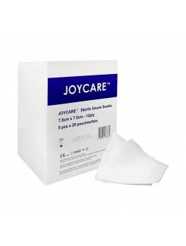 JOYCARE Gauze Swabs 7.5cmx7.5cm, 12-Ply, Sterile, 5's,