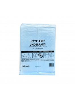 JOYCARE Underpads 75cmx75cm, 4-Ply, Autoclavable, 10sheets/pkt 200's