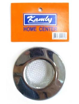 KAMLY XC12802 Sink Filter (Stainless Steel Net Type) Size: L, Diameter: 4cm