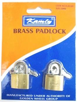 KAMLY XL33230 Padlock 30mmx2