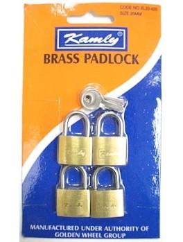 KAMLY XL33425 Padlock 25mmx4
