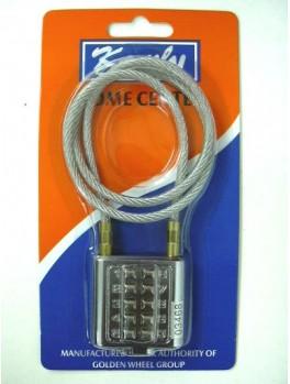KAMLY XL50540 Wire Rope Digital Lock 40mm