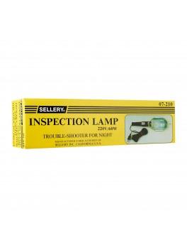 SELLERY 07-210 Inspection Light (220V / 60W Bulb), Cable Length: 24Ft