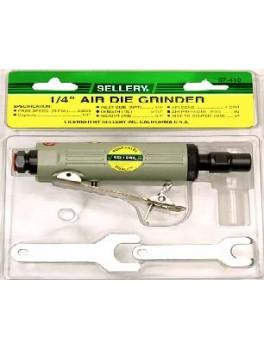 """SELLERY 07-410 1/4"""" Air Die Grinder 25,000 RPM"""