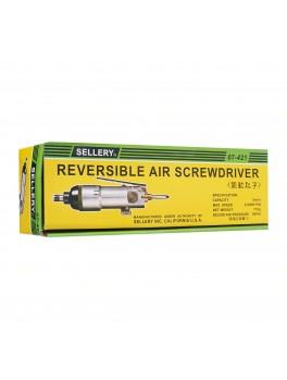 SELLERY 07-421 Reversible Air Screwdriver, Cap: 5m/m, Max.Sp: 8,000rpm, Recom Air Pressure 90PSI