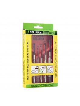 SELLERY 11-210 6pc Precision Screwdriver Set