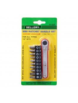 SELLERY 11-225 Mini Ratchet Handle Set