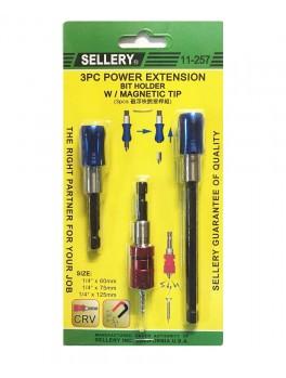 SELLERY 11-257 3pc Bit Holder Set