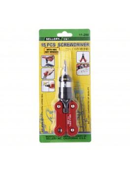 SELLERY 11-286 15-in-1 Screwdriver