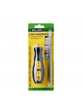 "SELLERY 11-531 2-Way Screwdriver 4""x#2x6mm"