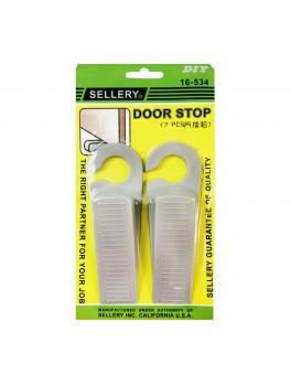 SELLERY 16-534 Door Stop, Colour: Grey (2pc/card)