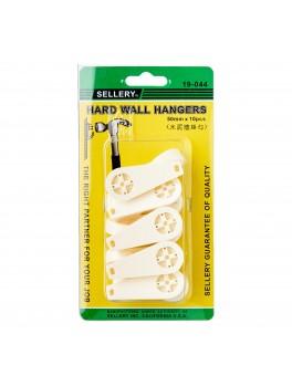 SELLERY 19-044 Hard Wall Hangers, 50mm (10pc/set)