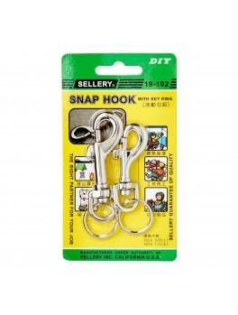 """SELLERY 19-102 Snap Hook 3/8""""x 2 5/8"""", 1/2""""x3"""" (2pc/set)"""