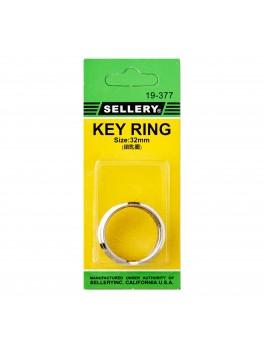 SELLERY 19-377 Key Rings 32mm (3pc/set)