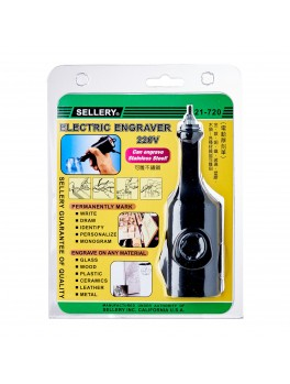 SELLERY 21-720 Electric Engraver 220v/10w 50hz, Round Plug
