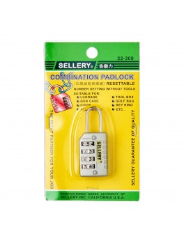 SELLERY 22-309 Combination Padlock 25mm