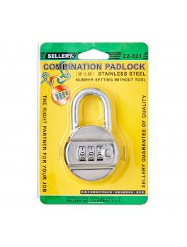 SELLERY 22-321 Combination Padlock 48mm