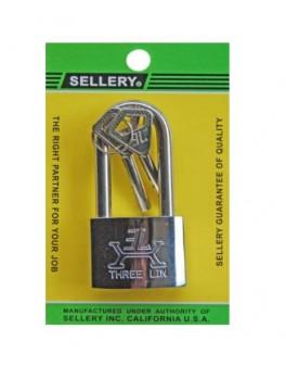 SELLERY 22-721 Padlock (S/S Long Shackle) 40mm