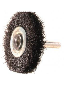 """SELLERY 30-210 Wire Wheel Brush, Size: 1.5""""x10mmx10mm (Thread: 6mmx30mm)"""