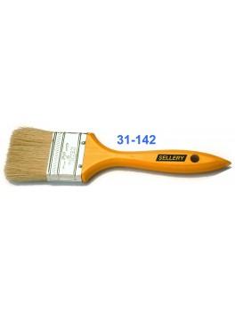 "SELLERY 31-142 Paint Brush 2"" (L:4.5cm) Wooden Handle & Bristle Brush"