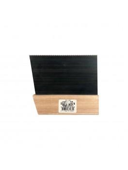 """SELLERY 31-535 Wooden Handle Scraper 4"""" with Teeth"""