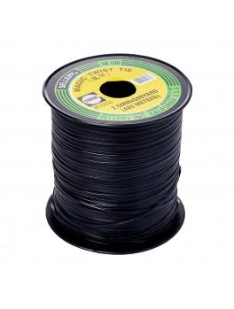 SELLERY 59-135 (Black) Magic Twist Tie, 2.5mmx500yard