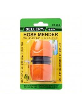 "SELLERY 60-088 Plastic Universal Hose Mender, Size: 1/2"" - 3/4"""