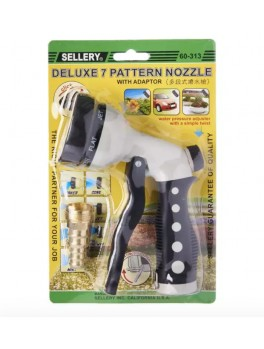 SELLERY 60-313 7 Pattern Trigger Nozzle