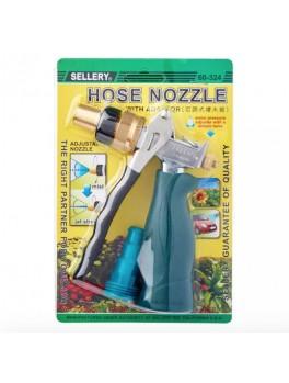 "SELLERY 60-324 Hose Nozzle w/ Adaptor (620A), Length: 5.1/2"", O.D: 3/4"""