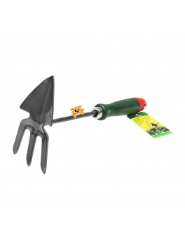 """SELLERY 63-998 3-Pronged Cultivator / Pointed-Spade 11.1/2"""" (Plastic Handle)"""
