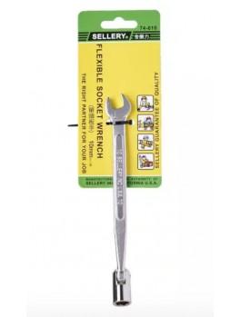 SELLERY 74-610 Flexible Socket Wrench, Size: 10mm