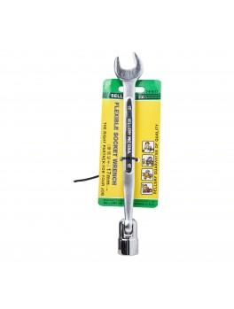SELLERY 74-617 Flexible Socket Wrench, Size: 17mm