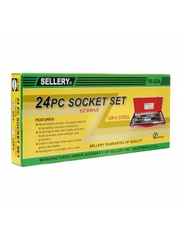 SELLERY 76-224 24pc Socket Set