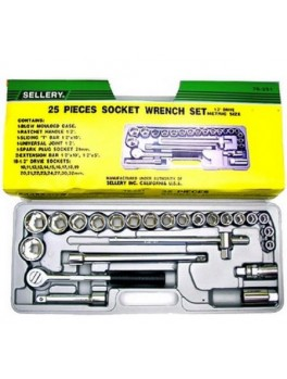 SELLERY 76-251 25pc Socket Wrench Set