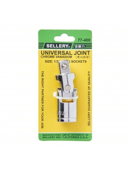 """SELLERY 77-400 Universal Joint, Size: 1/2"""" Drx72mm"""