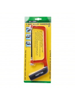 """SELLERY 81-908 Alloy Handsaw 6"""" (with 6"""" High Carbon Steel Saw Blade)"""