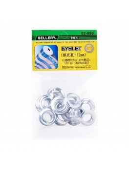 SELLERY 92-898 Eyelets 12mm 17pc/set (For 92-897)