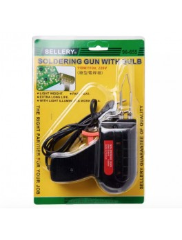 SELLERY 96-655 Soldering Iron, 100w / 220v (with Light)