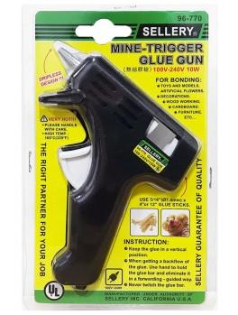 "SELLERY 96-770 Glue Gun, 110v - 240v / 10w (with 2pc Glue Sticks: 5/16""x4"")"