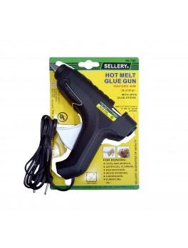 "SELLERY 96-780 Glue Gun, 110v - 240v / 40w (with 2pc Glue Sticks: 1/2""x3.1/2"")"