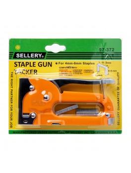 SELLERY 97-372 Staple Gun (for 4mm, 6mm, 8mm Staplets)