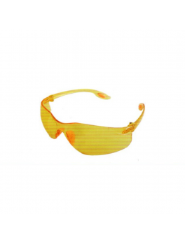 ANDER 30020 Yellow Safety Eyewear Goggle - Yellow Frame