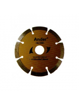 ANDER 3202 Dry Diamond Blade - 4'' (Yellow)